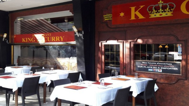 King Curry Terrasse