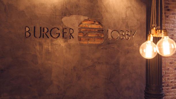 The Burger Lobby - Corazón de María Logo