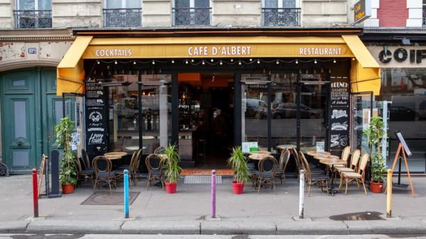 Café d'Albert Paris 11ème Devanture