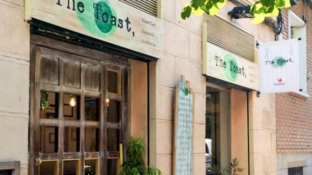 Toast Café Entrada