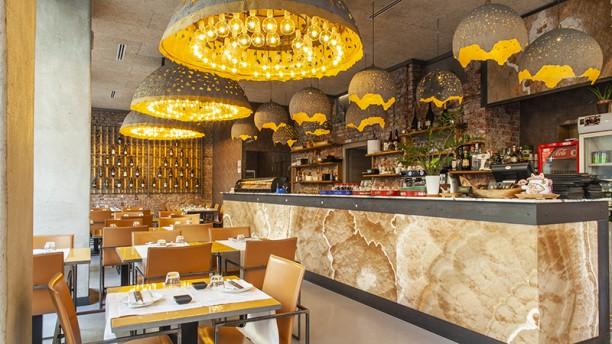Nara Sushi Restaurant Vista sala
