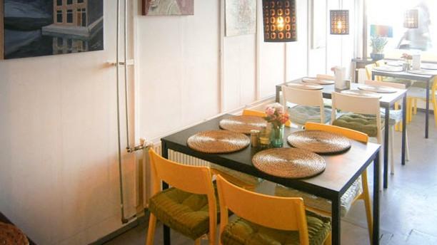 Momi-K Kitchen Art restaurantzaal