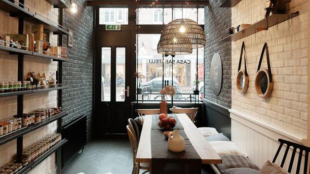 Casa Sabatelli Het restaurant