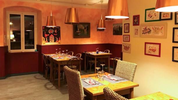 Antica Trattoria delle Rose Sala del ristorante