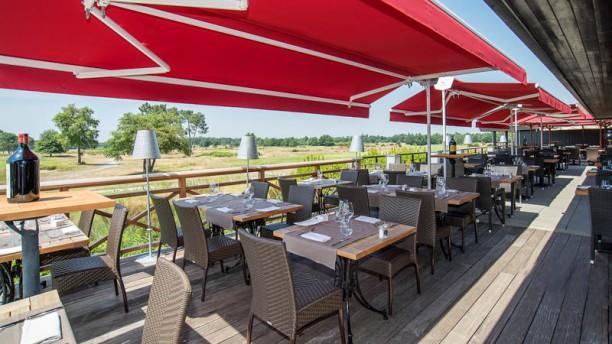 Golf du Medoc Le Club Vue de la terrasse
