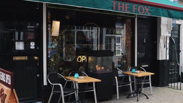 Bar Restaurant The Fox Terras / ingang