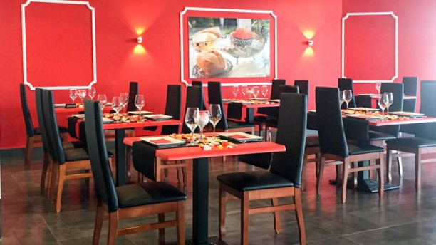 Caviar Rojo Vista de la sala