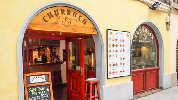 Churruca 5 Vista entrada