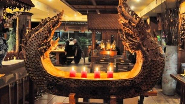 Thaï Orchidée Vue de l'intérieur