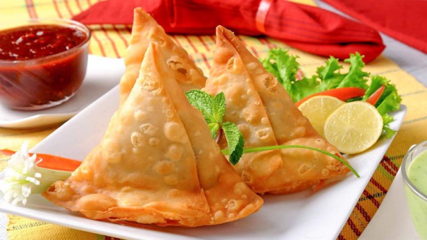 Red Chilli Samosa Veg/Meat