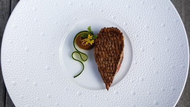 Anjou Pigeon, Cevenne onion, tonka bean - La Rive (Amstel Hotel), Amsterdam
