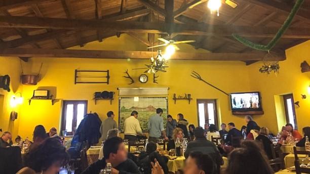 Agriturismo Aia Antica Sala del ristorante