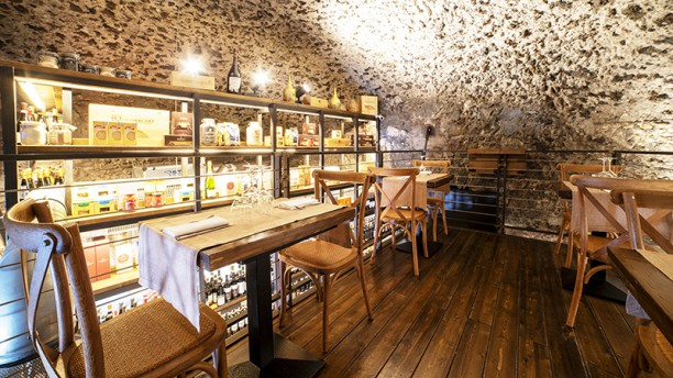 Mercato Pompeiano - Restaurant Vista della sala