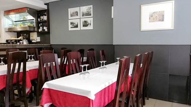 Restaurante Alcaide Vista da sala