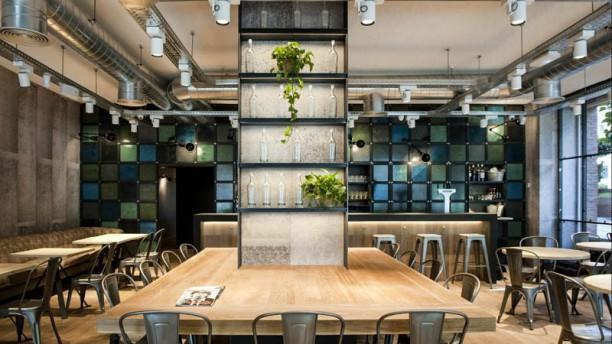 OhBo Organic Café Vista sala