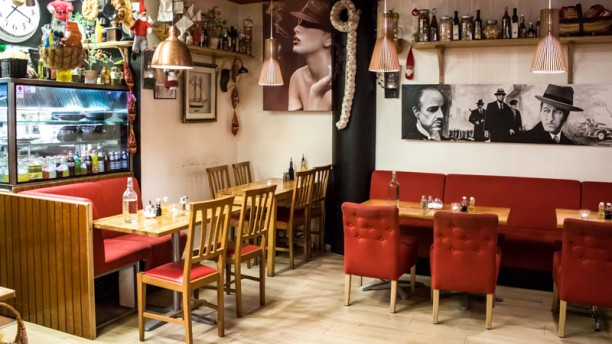 Pasta Gudfadern - i Söderhallarna Restaurant