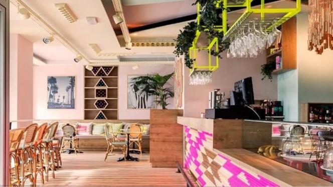 Vista sala - Wanda Café Optimista, Madrid