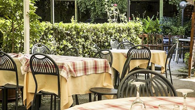 terrazza - Ristorante Ar Montarozzo, Rome