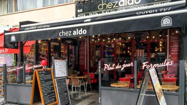 Chez Aldo Entreé du restaurant