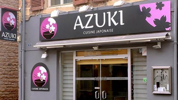 Azuki Façade du restaurant