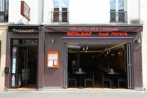 Thaï Papaya Bienvenue au restaurant Thaï Papaya