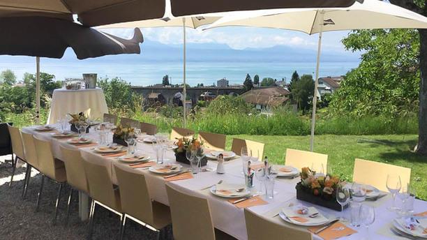 Restaurant Du Tennis Club de Pully Terrasse