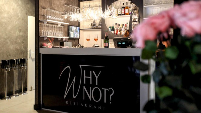Comptoir du restaurant - Why Not, Strasbourg