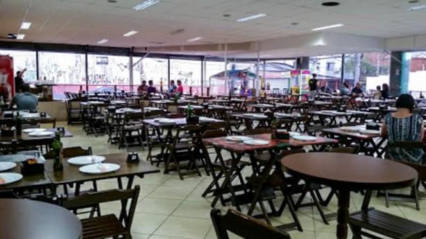 Poly Pizzas Esfihas Espetos ABC Vista do interior