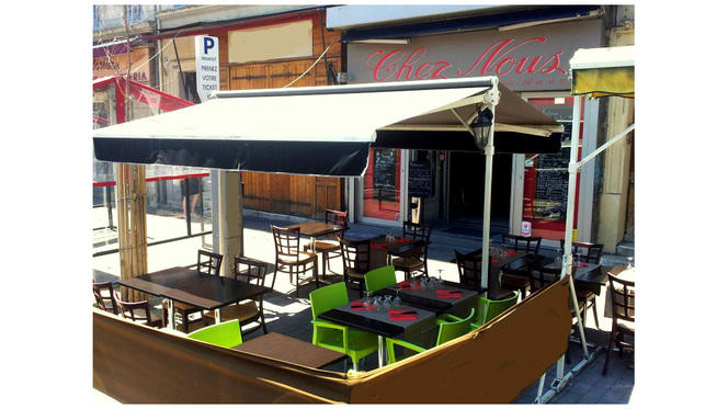 terrasse - Chez Nous, Marseille