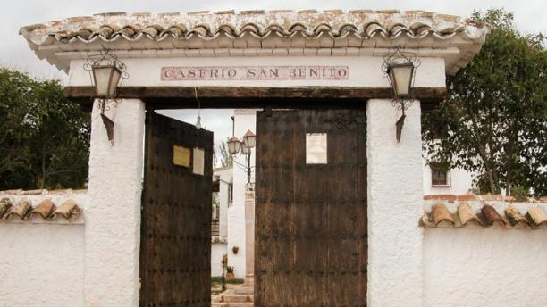 Caserío de San Benito Vista exterior