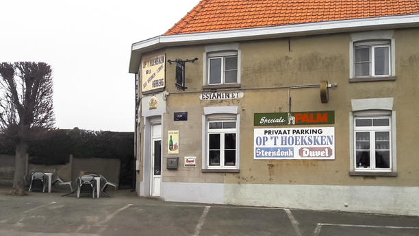 Café Op't Hoeksken Voorgevel