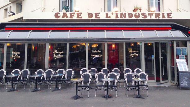 Café de l'Industrie terrasse de l'industrie
