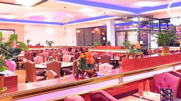 Palais de Chine Vue de la salle