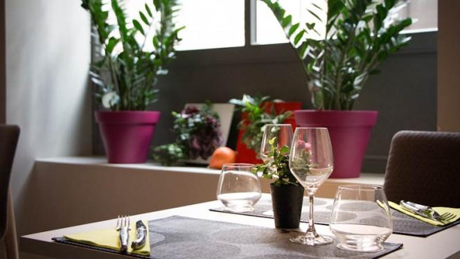 Table dressée - Sapio, Nantes