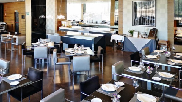 El Gueridón - Hotel Ciudad de Móstoles Vista sala