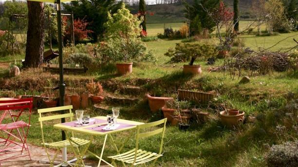 Le Bal des Arts Terrasse et jardin