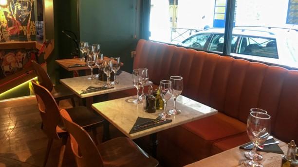 Brasserie Sicilienne Vue de la salle