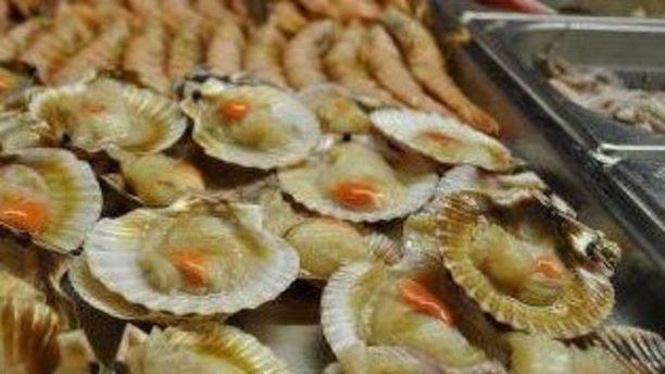 Regno della Bontà vassoio di frutti di mare