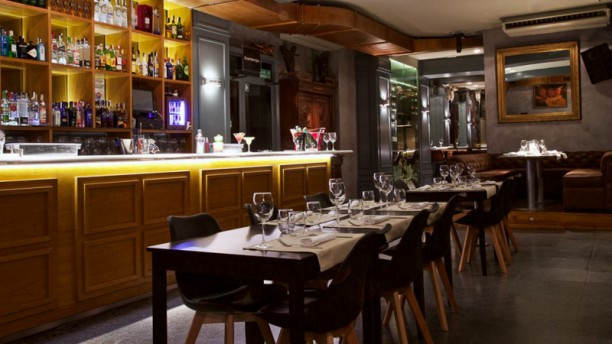 Las Ánimas Gastroclub Vista sala