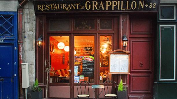 Le Grappillon Bienvenue au restaurant Le Grappillon