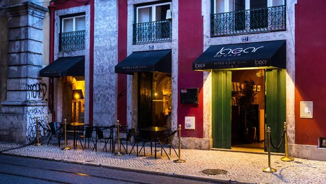 fachada do restaurante - Lagar do Cais, Lisboa