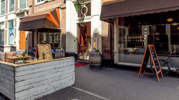 Café-restaurant Schlemmer Ingang