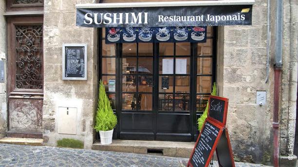 Sushimi entrée