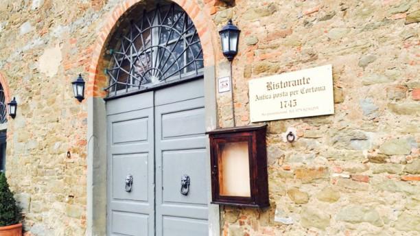 Antica Posta per Cortona 1745 (Antico Casale di Montegualandro) Entrata