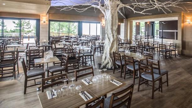 Côtes et dunes Salle du restaurant