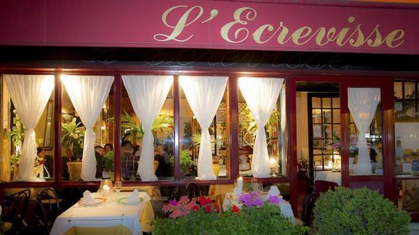 L'Ecrevisse devanture du restaurant l'Ecrevisse