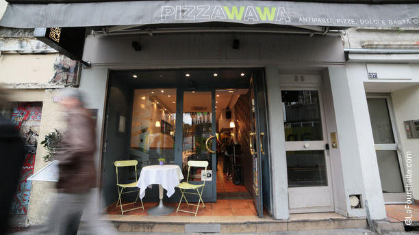 Pizza Wawa Restaurant Pizza Wawa  Paris 1er