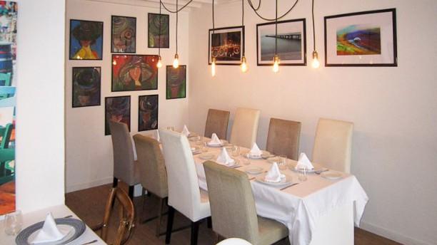 Porto Pino - Restaurant&Boutique Vista de la sala