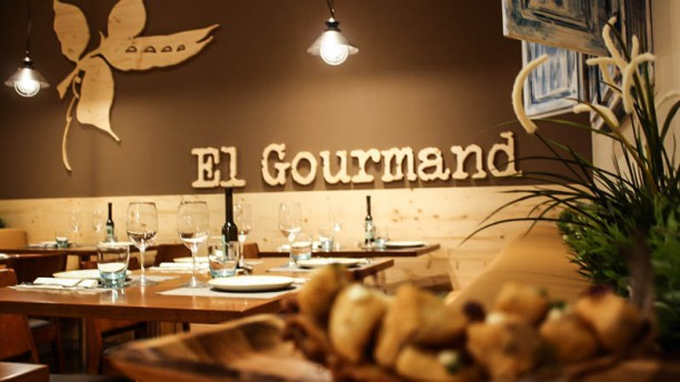 El Gourmand Vista sala