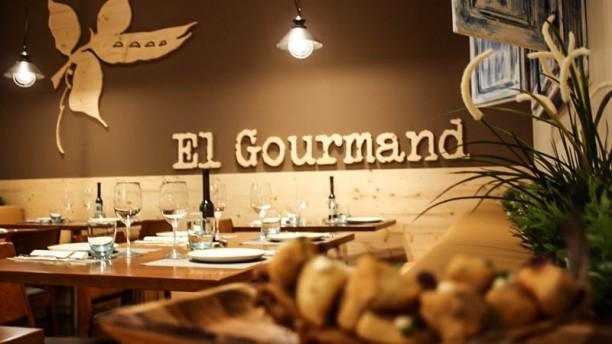 El Gourmand Vista sala